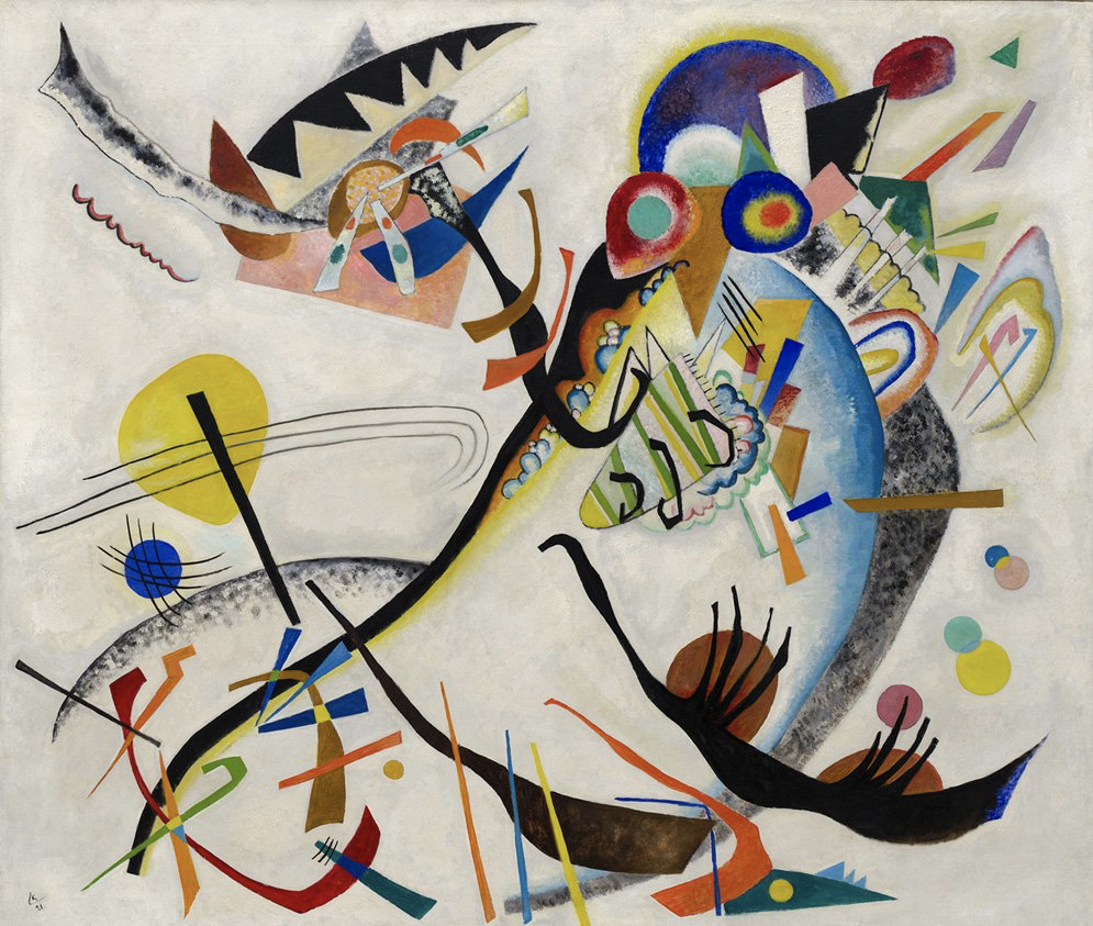 Kandinsky painting - - the purpose of color in UI/UX design from CreITive digital marketing agency