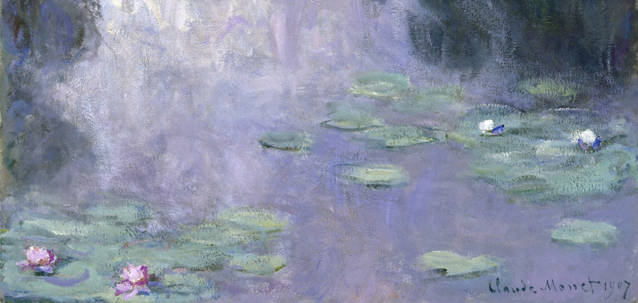 Monet's water lillies - the purpose of color in UI/UX design from CreITive digital marketing agency